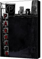 Jerry Cordeiro Prints Canvas Prints - Aide The Park  Canvas Print by Jerry Cordeiro