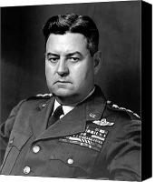 Vietnam Canvas Prints - Air Force General Curtis Lemay  Canvas Print by War Is Hell Store