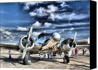Airplane Canvas Prints - Air HDR Canvas Print by Arthur Herold Jr