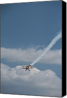 Bi Planes Canvas Prints - Air Show, Biplane Canvas Print by Brian Gordon Green