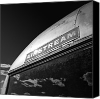 Caravan Canvas Prints - Airstream Canvas Print by David Bowman