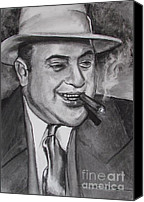 Eric Dee Canvas Prints - Al Capone 0G Scarface Canvas Print by Eric Dee