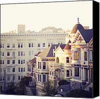 San Francisco Photo Canvas Prints - Alamo Square, San Francisco Canvas Print by Image - Natasha Maiolo