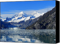 Don L Williams Canvas Prints - Alaska Mountains Canvas Print by Don L Williams