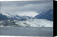 Beaches Special Promotions - Alaskan Glacier Canvas Print by Chris Holmes