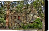 Old Mills Canvas Prints - Albert Mill Nairne Canvas Print by Mark Richards