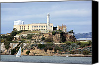 Guidance Canvas Prints - Alcatraz Island Canvas Print by Luiz Felipe Castro