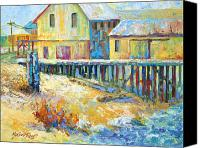 Marion Rose Canvas Prints - Alert Bay Cannery Canvas Print by Marion Rose