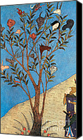 Talking Canvas Prints - Alexander The Great At The Oracular Tree Canvas Print by Photo Researchers