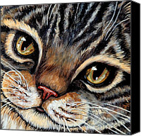 Tabby  Painting Canvas Prints - Ali Canvas Print by Sherry Dole