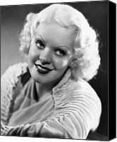 1930s Hairstyles Canvas Prints - Alice Faye, 1935 Canvas Print by Everett