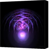 Alien Canvas Prints - Alien Canvas Print by Stefan Kuhn