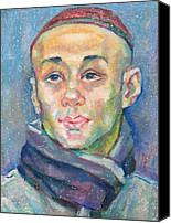 Skullcap Canvas Prints - Alisher Khasanov Canvas Print by Leonid Petrushin