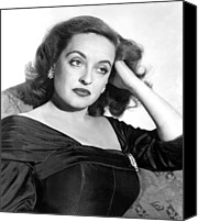 1950 Movies Photo Canvas Prints - All About Eve, Bette Davis, 1950 Canvas Print by Everett