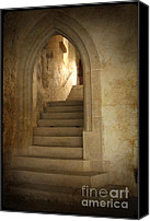Archways Canvas Prints - All Experience is an Arch Canvas Print by Heiko Koehrer-Wagner