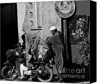 Morocco Canvas Prints - All packed Canvas Print by Marion Galt