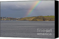Kernow Canvas Prints - All The Colours Of Canvas Print by Brian Roscorla