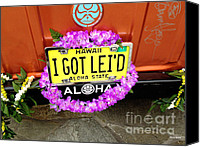 Got Canvas Prints - Aloha Canvas Print by Cheryl Young