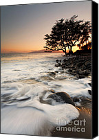 Lahaina Canvas Prints - Alone with the Sea Canvas Print by Mike  Dawson