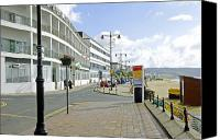 United Kingdom Canvas Prints - Along the Esplanade at Sandown Canvas Print by Rod Johnson