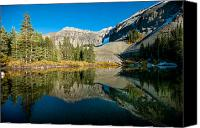 Whalen Photography Canvas Prints - Alta Lakes Canvas Print by Josh Whalen