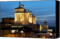 Monument To The Unknown Soldier Canvas Prints - Altare della Patria Canvas Print by Fabrizio Troiani