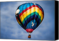 Hot Air Canvas Prints - Amazing Grace Canvas Print by Bob Orsillo