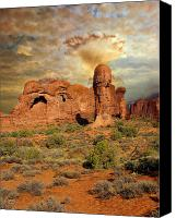 Marty Koch Canvas Prints - Amber Arches Canvas Print by Marty Koch