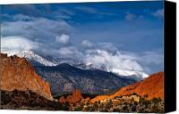 Peak Canvas Prints - America The Beautiful Canvas Print by Tim Reaves