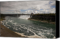 Amanda Barcon Canvas Prints - American Falls Canvas Print by Amanda Barcon