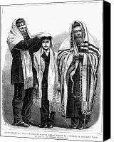Rabbi Canvas Prints - American Judaism, 1877 Canvas Print by Granger