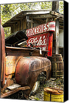 Junk Canvas Prints - American Pickers Canvas Print by Peter Chilelli