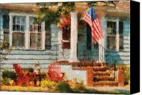 4th Canvas Prints - Americana - America the Beautiful Canvas Print by Mike Savad