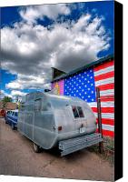 66 Canvas Prints - Americana Canvas Print by Peter Tellone
