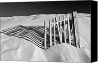 Dunes Canvas Prints - Amoreira Shadows Canvas Print by John McKinlay