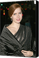 Dangly Earrings Canvas Prints - Amy Adams At Arrivals For The 2008 Canvas Print by Everett