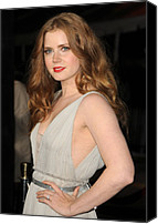 Half-length Canvas Prints - Amy Adams At Arrivals For The Fighter Canvas Print by Everett