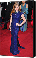 Academy Awards Oscars Canvas Prints - Amy Adams Wearing Lwren Scott Dress Canvas Print by Everett
