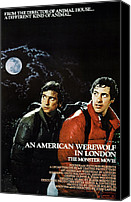 Griffin Canvas Prints - An American Werewolf In London, Griffin Canvas Print by Everett