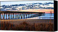 Topsail Island Canvas Prints - An Atlantic Daybreak Canvas Print by JC Findley