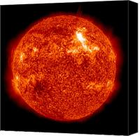 Chromosphere Canvas Prints - An Intensity M8.7 Solar Flare Canvas Print by Stocktrek Images