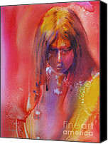 Apache Canvas Prints - Anastasia Canvas Print by Robert Hooper