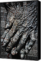 Skip Nall Canvas Prints - Ancient Hands Canvas Print by Skip Nall