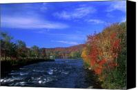 Androscoggin River Canvas Prints - Androscoggin River Headwaters Canvas Print by John Burk