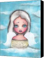 Fantasy Canvas Prints - Angel Canvas Print by  Abril Andrade Griffith