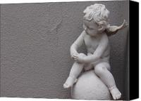 Cherub Canvas Prints - Angel Canvas Print by Edan Chapman