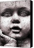 Cherub Canvas Prints - Angel Face Canvas Print by Dan Holm