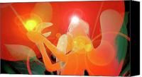 Second Chakra Canvas Prints - Angel-Light No. 01 Canvas Print by Ramon Labusch
