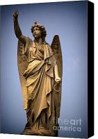 Orleans Pyrography Canvas Prints - Angel on High Canvas Print by Brad Leese