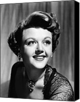 Choker Canvas Prints - Angela Lansbury, 1950 Canvas Print by Everett